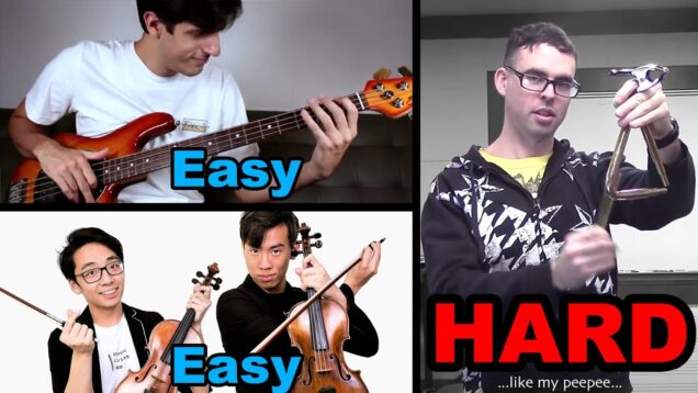 Actually…PERCUSSION-is-the-Hardest-Instrument-TwoSetViolin-and-Davie504-Roast