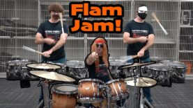 Bluecoats-Flam-Jam-Cover-by-EMC-SweetBeatChallenge