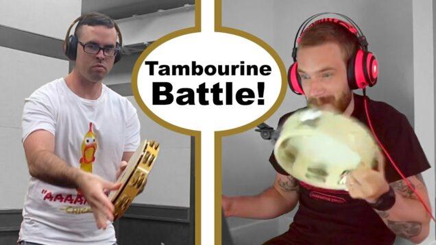 I-Challenged-PewDiePie-to-a-Tambourine-Battle