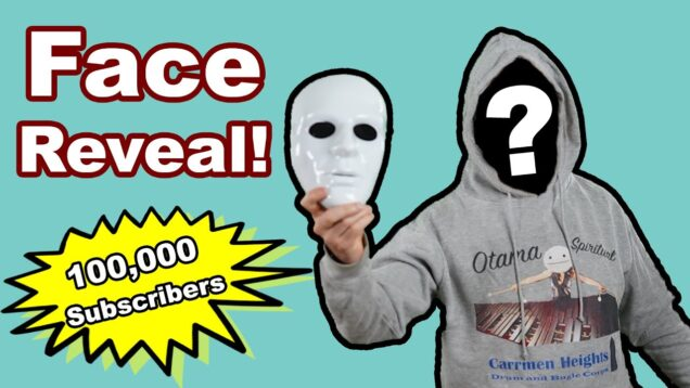 100k-Subscriber-Face-Reveal-Special-Drum-Wrap-Contest-Character-Reveal