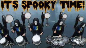 Spooky-Scary-Skeletons-Drum-Cadence-INSANE-REMIX