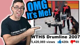 Reacting-to-my-2007-High-School-Drumline-Show