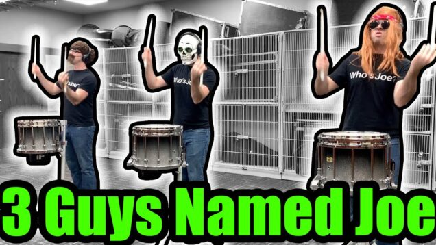 AMAZING-Snare-Drum-Solo-3-Guys-Named-Joe-FREE-sheet-music-tutorial