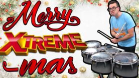 EXTREME-JINGLE-BELLS-on-Tenor-Drums-MEGA-CHOPS