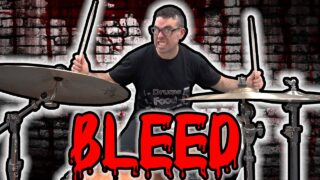 Learning-the-Bleed-Drum-Beat-in-66.6-Minutes-Meshuggah-cover