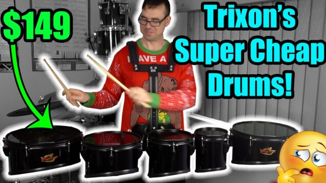 Trixon-Marching-Tenor-Drums-Product-Review-by-EMC