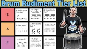The-40-Essential-Drum-Rudiments-Tier-List
