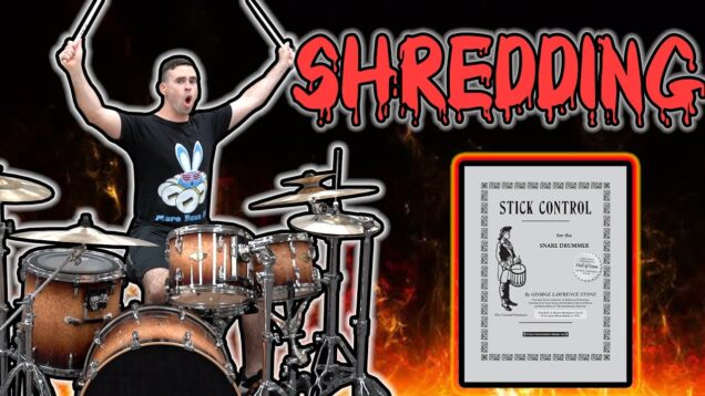 SHREDDING-Stick-Control-on-the-Double-Bass-Drum