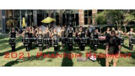 2021-Phantom-Regiment-Dubuque-lot-warm-up