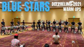 Blue-Stars-Drumline-2021-DCI-Prelims-Warm-Ups