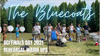 Bluecoats-Drumline-2021-DCI-Finals-Rehearsal-Warm-Ups