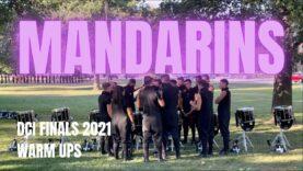 Mandarins-Drumline-2021-DCI-Finals-Warm-Ups