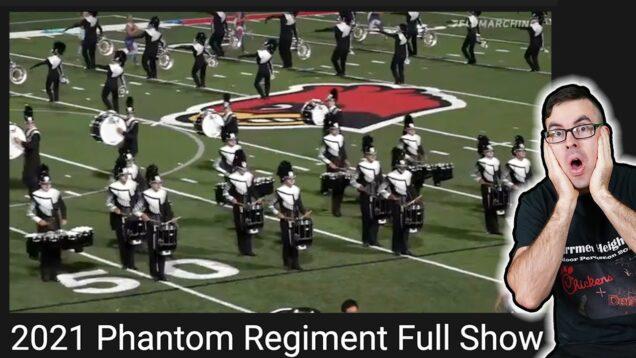 Phantom-Regiment-2021-Full-Show-EMC-Reacts-and-learns-it
